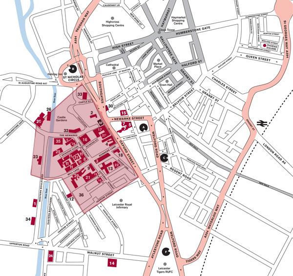 Aerial views and maps - De montfort university international office ...
