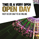This is a very open open day