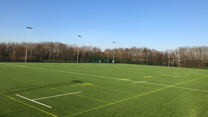 Image of American Football pitch at Beaumont Park