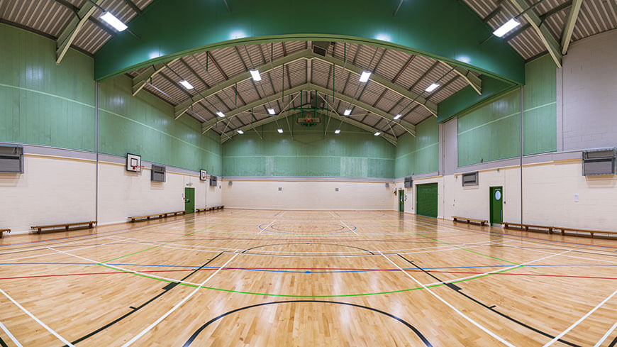 Image of the Watershed sports hall