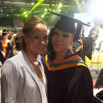 Student who grew up in the care system thanks DMU staff for helping her to succeed